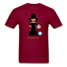 Load image into Gallery viewer, Seyoncé (Beyonce Inspired Halloween) T-Shirt - burgundy