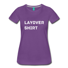 Load image into Gallery viewer, Layover Shirt Women's Cut - purple