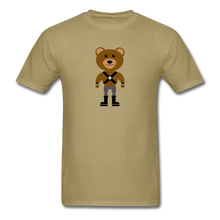 Load image into Gallery viewer, Muscle Bear T-Shirt . - khaki