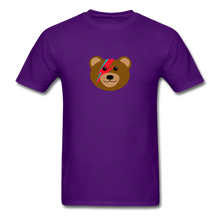 Load image into Gallery viewer, Bowie Bear T-Shirt - purple