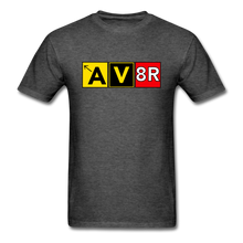 Load image into Gallery viewer, Aviator AvGeek T-Shirt - heather black