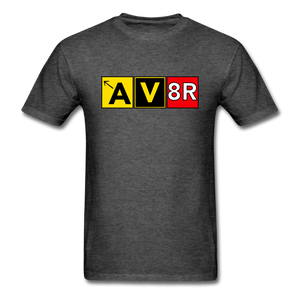 Aviator AvGeek T-Shirt - heather black