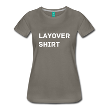 Load image into Gallery viewer, Layover Shirt Women's Cut - asphalt