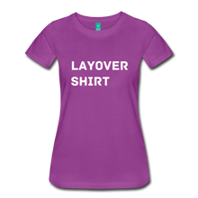 Load image into Gallery viewer, Layover Shirt Women's Cut - light purple