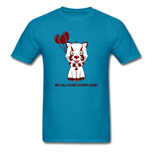Load image into Gallery viewer, Kittywise (IT Inspired) Halloween T-Shirt - turquoise