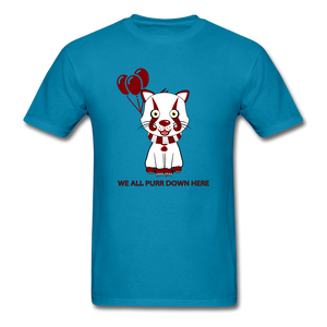 Kittywise (IT Inspired) Halloween T-Shirt - turquoise