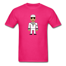 Load image into Gallery viewer, Sailor Boy Men's T-Shirt - fuchsia