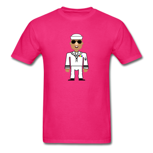 Sailor Boy Men's T-Shirt - fuchsia