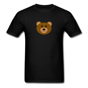 Cute Bear T-Shirt - black