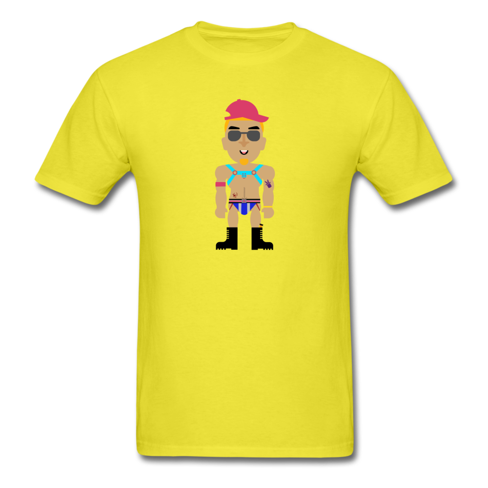 Circuit Daddy T-Shirt - yellow