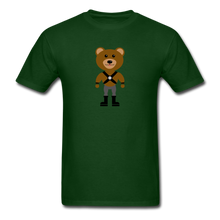Load image into Gallery viewer, Muscle Bear T-Shirt . - forest green