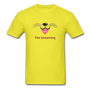 The Grooming T-Shirt - yellow