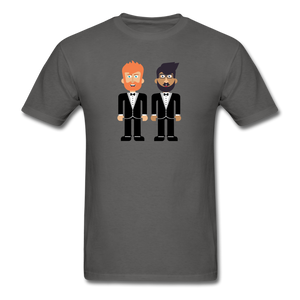 The Happy Couple T-Shirt - charcoal
