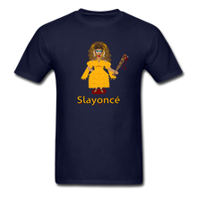 Load image into Gallery viewer, Slayoncé (Beyonce Parody)Halloween T-Shirt - navy