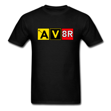 Load image into Gallery viewer, Aviator AvGeek T-Shirt - black