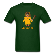 Load image into Gallery viewer, Slayoncé (Beyonce Parody)Halloween T-Shirt - forest green