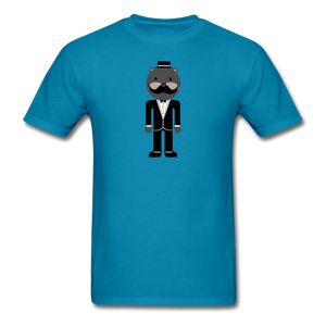 Formal Otter T-Shirt - turquoise