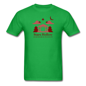 Stars Hollow Men's T-Shirt - bright green