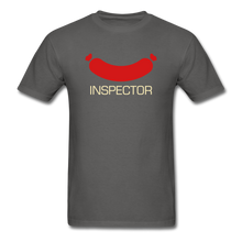 Load image into Gallery viewer, Wiener Inspector Men's T-Shirt - charcoal