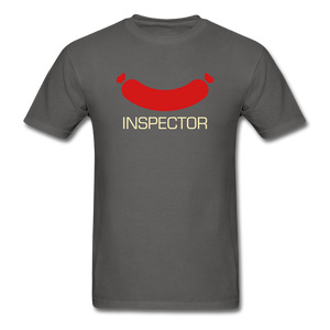 Wiener Inspector Men's T-Shirt - charcoal