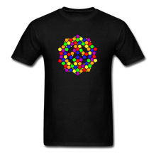 Load image into Gallery viewer, Kaleidoscope Pride  T-Shirt - black