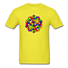 Load image into Gallery viewer, Kaleidoscope Pride  T-Shirt - yellow