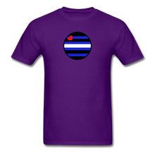 Load image into Gallery viewer, Leather Pride T-Shirt - purple