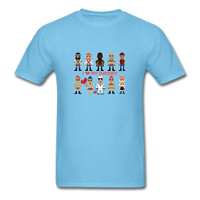 Load image into Gallery viewer, I Love My Daddies Men's T-Shirt - aquatic blue
