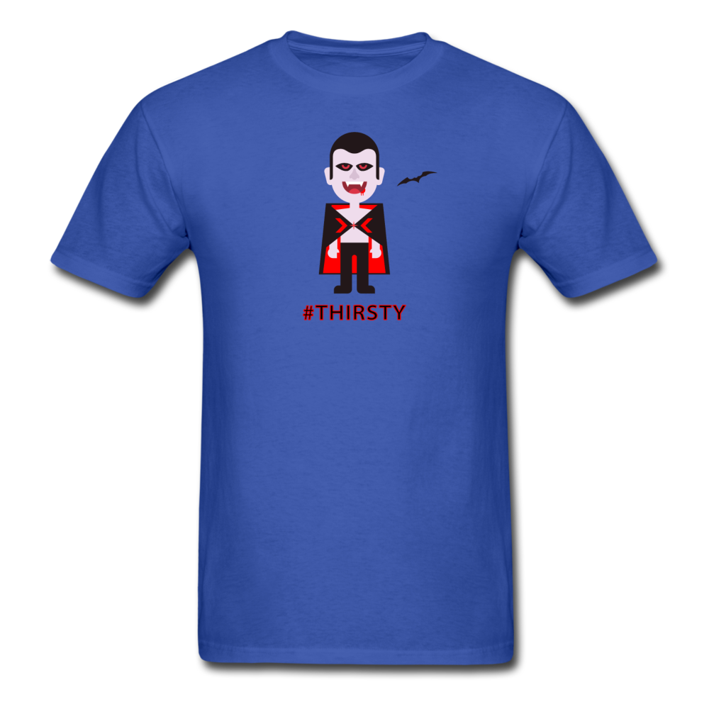 Thirsty Vampire Halloween T-shirt - BravoPapa Clothing