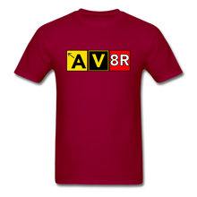 Load image into Gallery viewer, Aviator AvGeek T-Shirt - dark red