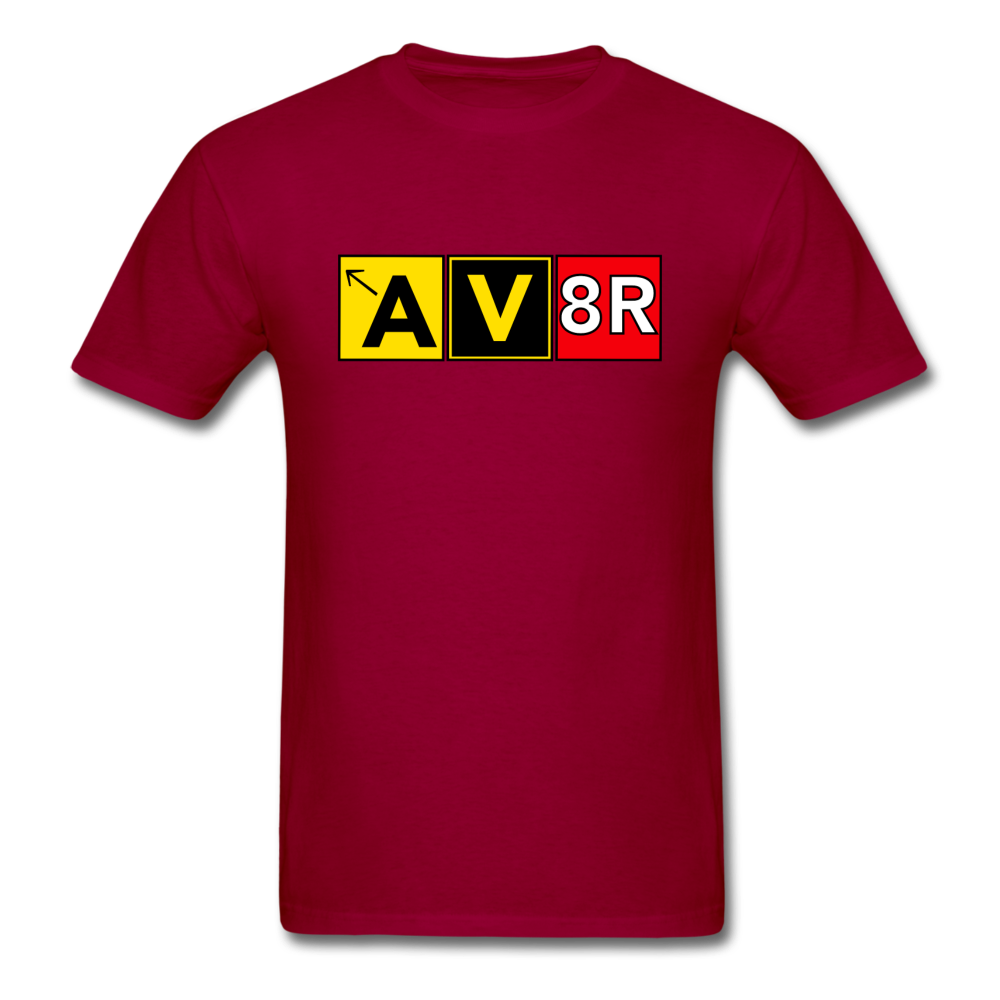 Aviator AvGeek T-Shirt - dark red