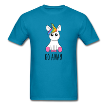 Load image into Gallery viewer, Lonely Unicorn Men's T-Shirt - turquoise