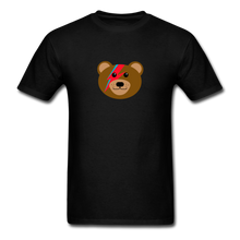Load image into Gallery viewer, Bowie Bear T-Shirt - black
