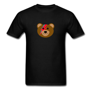 Bowie Bear T-Shirt - black
