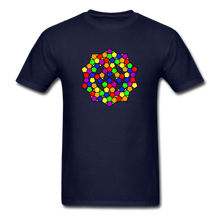 Load image into Gallery viewer, Kaleidoscope Pride  T-Shirt - navy