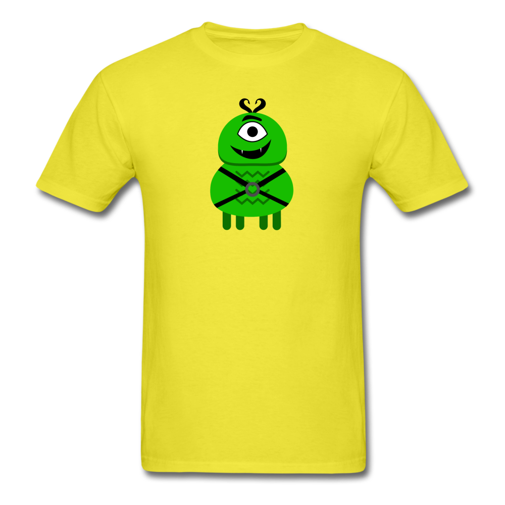 Alien Daddy T-Shirt - yellow