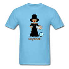 Load image into Gallery viewer, Seyoncé (Beyonce Inspired Halloween) T-Shirt - aquatic blue
