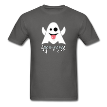 Load image into Gallery viewer, Boo-kake Halloween T-Shirt - charcoal