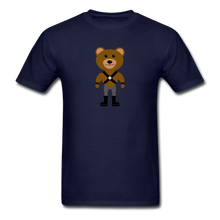 Load image into Gallery viewer, Muscle Bear T-Shirt . - navy
