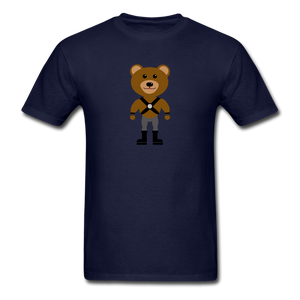 Muscle Bear T-Shirt . - navy