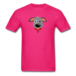 Puppy Power Pride T-Shirt - fuchsia