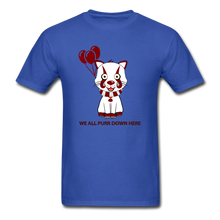 Load image into Gallery viewer, Kittywise (IT Inspired) Halloween T-Shirt - royal blue