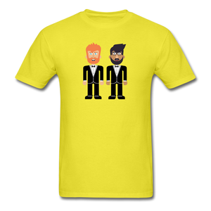 The Happy Couple T-Shirt - yellow