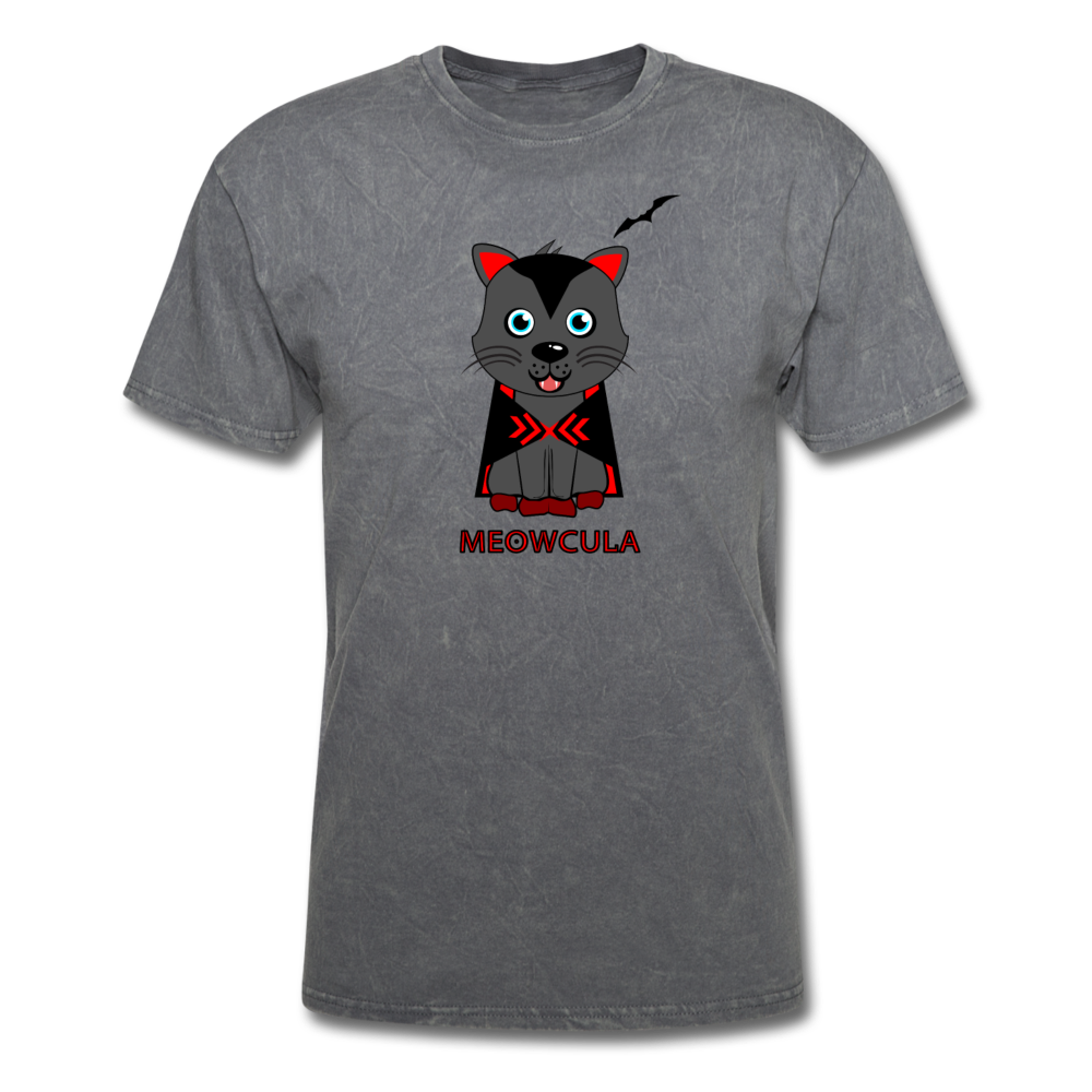 Meowcula vampire Cat Halloween T-Shirt - BravoPapa Clothing