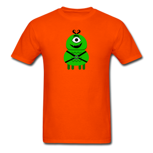Alien Daddy T-Shirt - orange