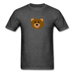 Cute Bear T-Shirt - heather black