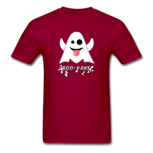 Load image into Gallery viewer, Boo-kake Halloween T-Shirt - dark red