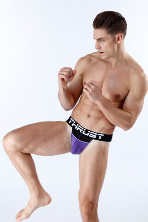 Thrust Jockstrap Purple - BravoPapa Clothing
