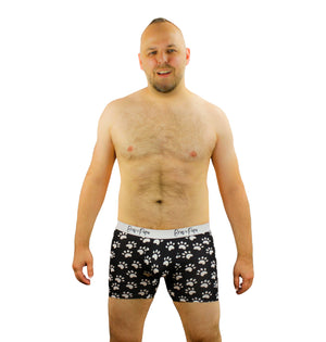 Puppy Paw Print Men's Underwear - BravoPapa Clothing
