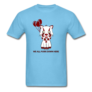 Kittywise (IT Inspired) Halloween T-Shirt - aquatic blue